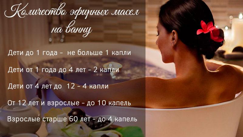 Как добавлять эфирное масло в ванну