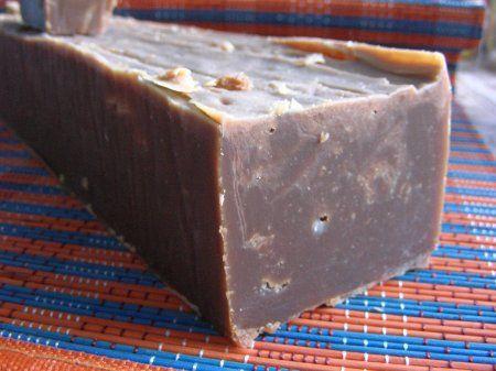 Мыло на соке черной смородины