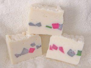 Мыло с белой глиной (полугорячий способ)