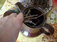 Чай из веточек для хорошего настроения