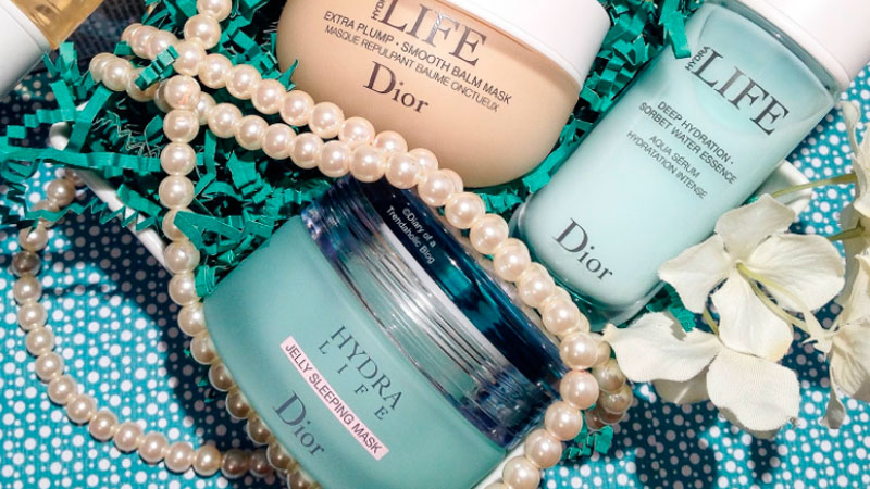 Christian Dior Hydra Life ночная увлажняющая маска
