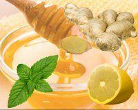 Имбирный чай от простуды и депрессии