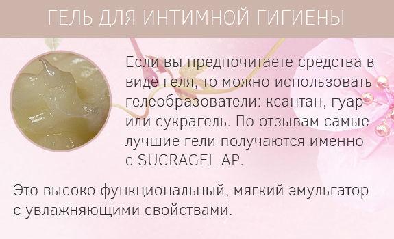 Рецепты средств для интимной гигиены